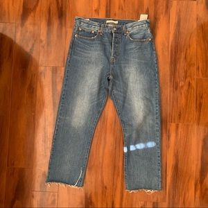 Levi's Wedgie Straight Cropped